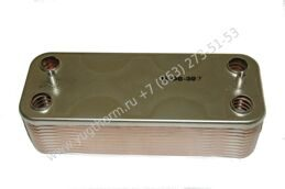 Теплообменник ГВС BERETTA City, Super exclusive CAI/CSI, Mynute, Idra Exclusive 24 kW 12 пл. R8036